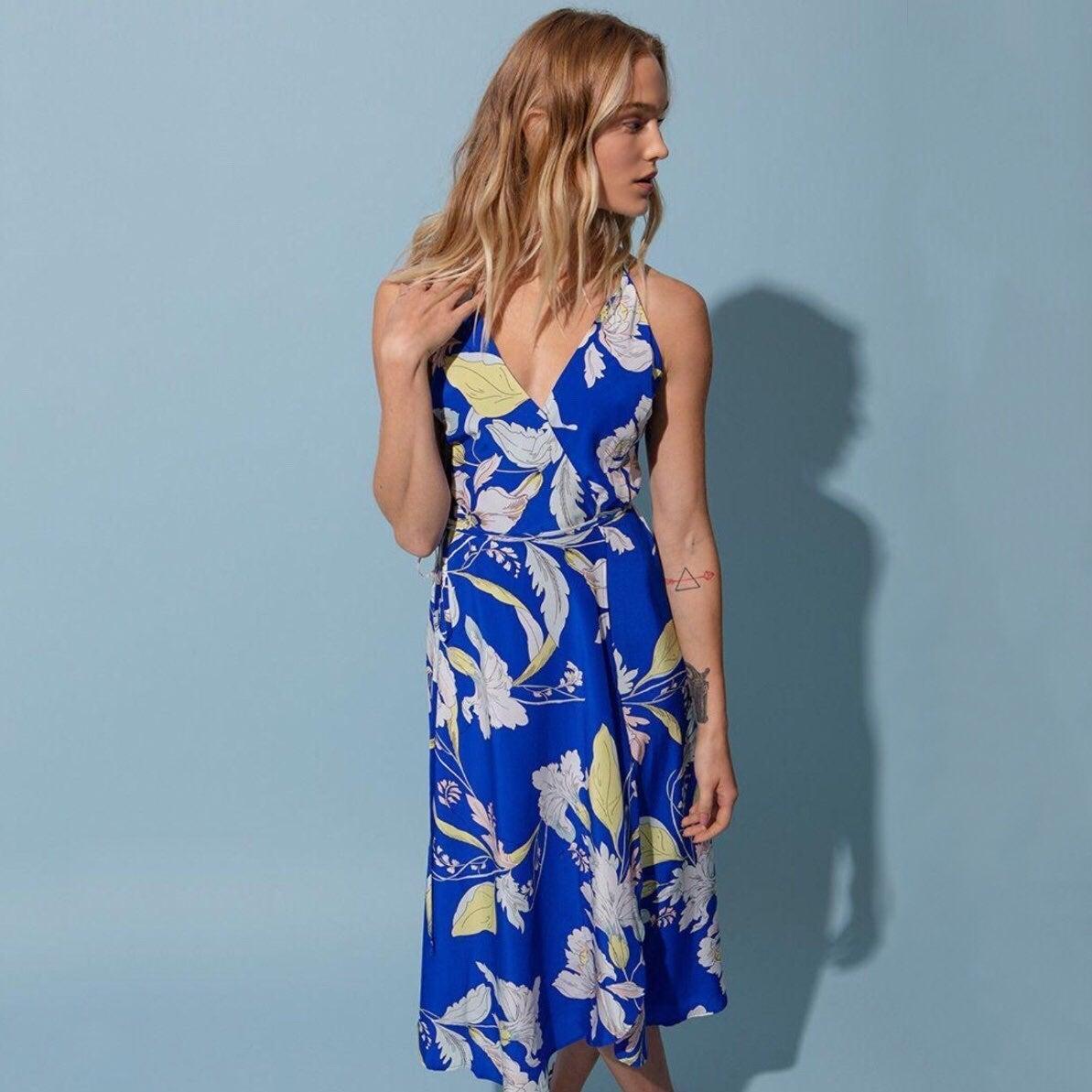 Yumi Kim City Lights Garden Wrap Dress