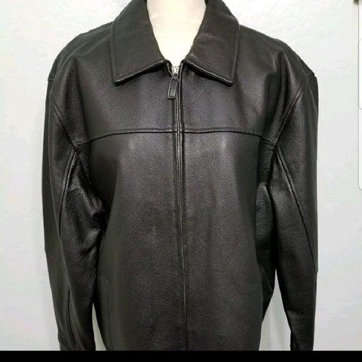 Covington Mens Leather Jacket