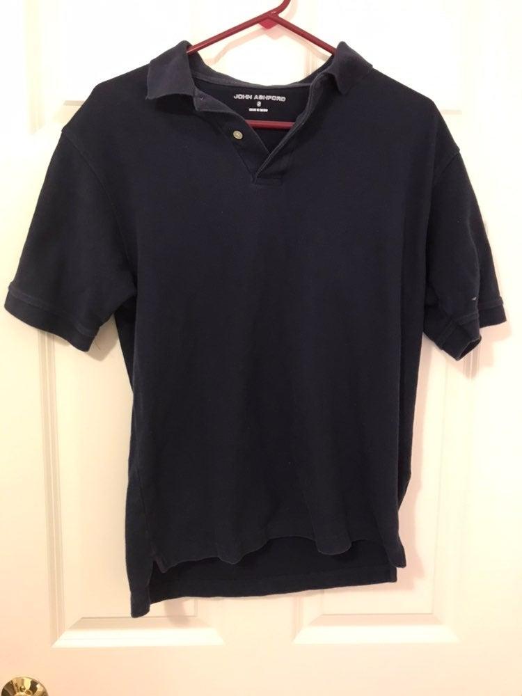 John Ashford Navy Polo Shirt