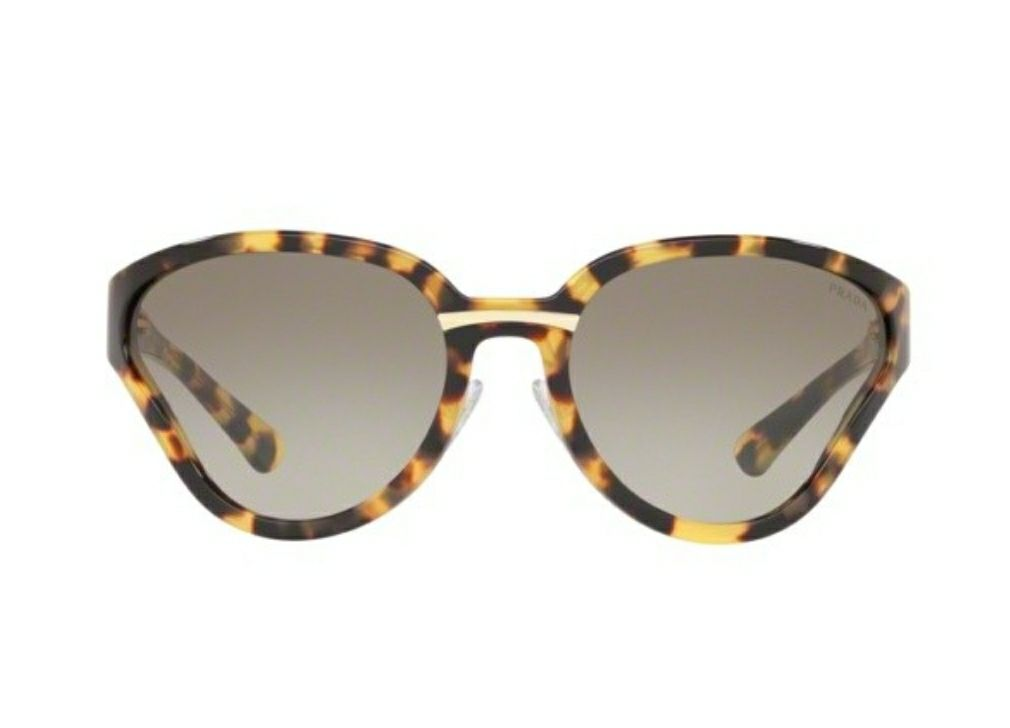 Prada Medium Havana Butterfly Sunglasses