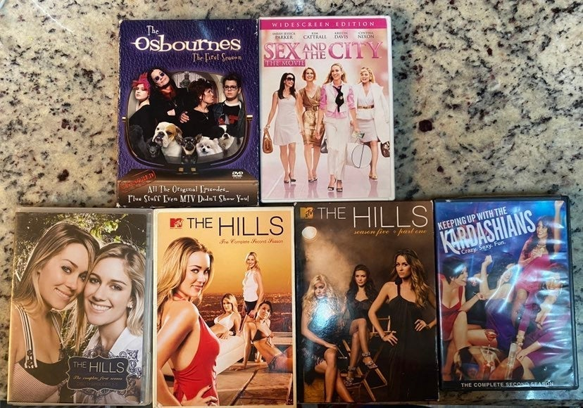 DVD tv series lot
