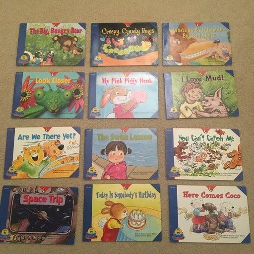 12 reading for fluency beginer Kids book