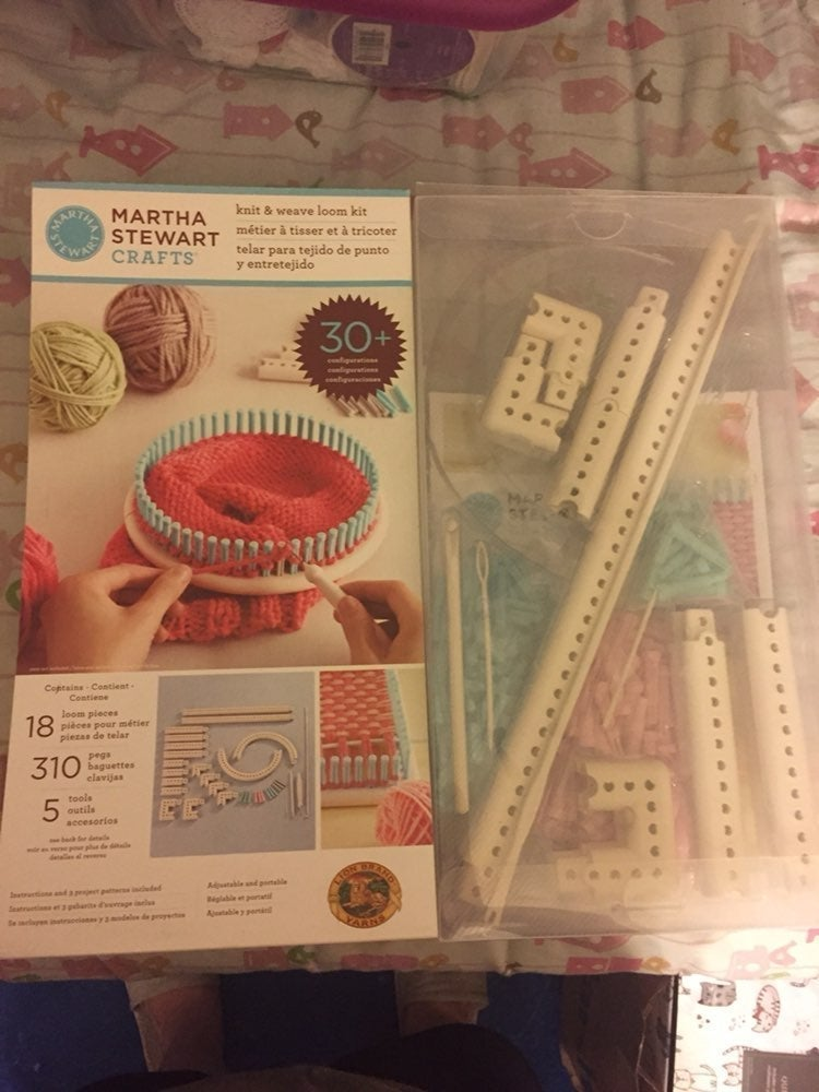 Martha Stewart Crafts Knit & Weave Loom