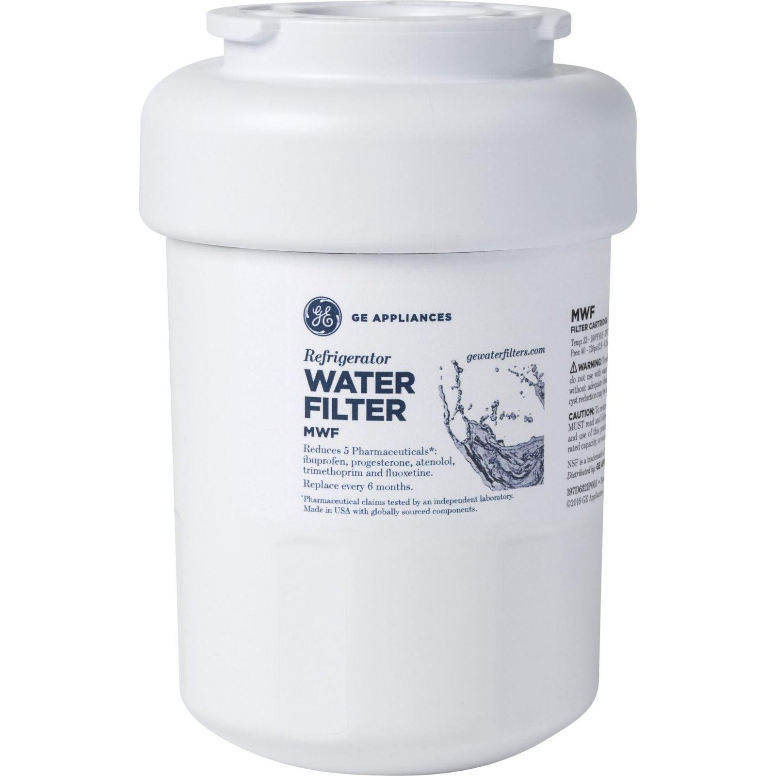 2 Pack GE MWF Refrigerator Water Filters