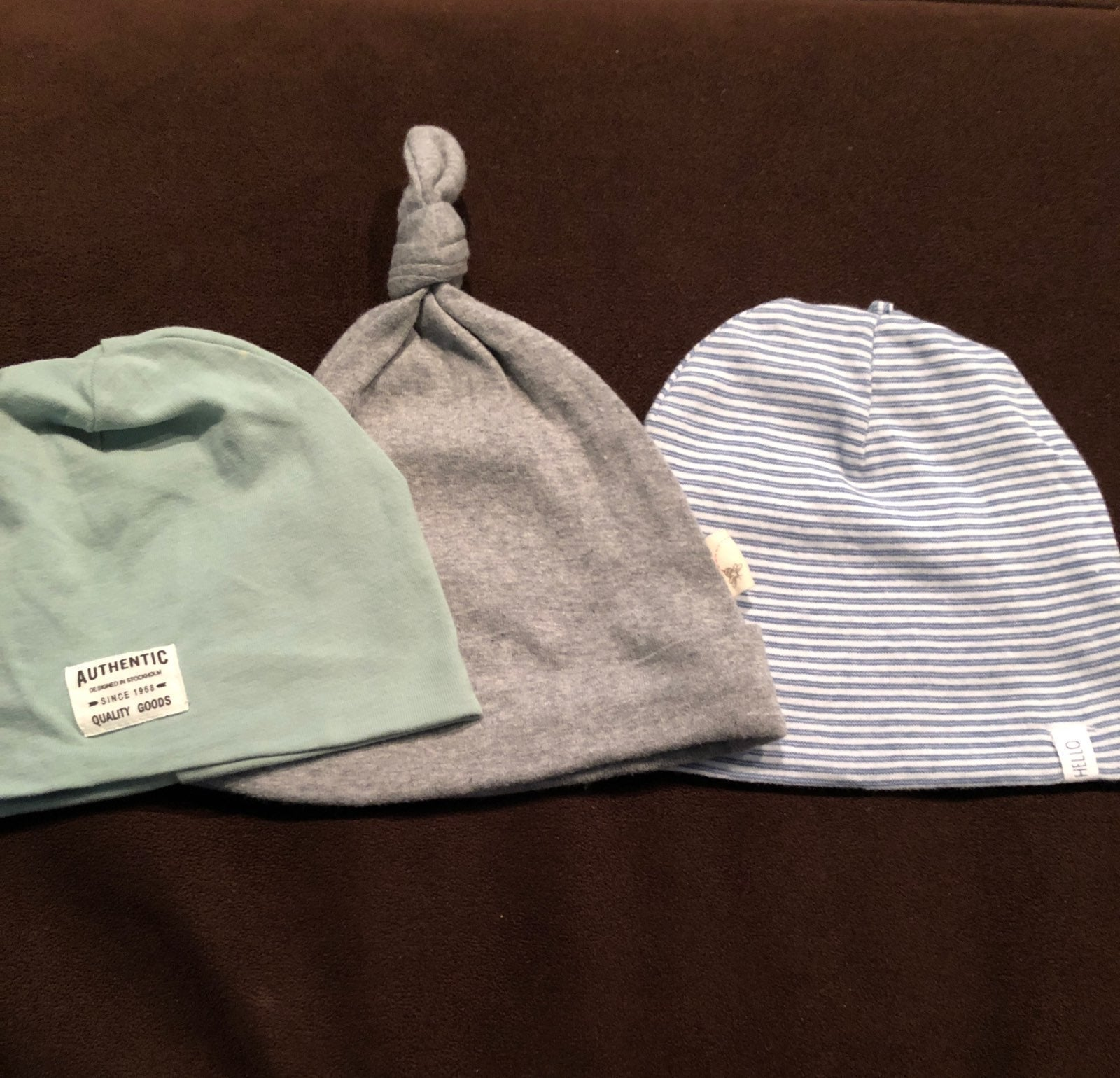 Baby boy hat bundle