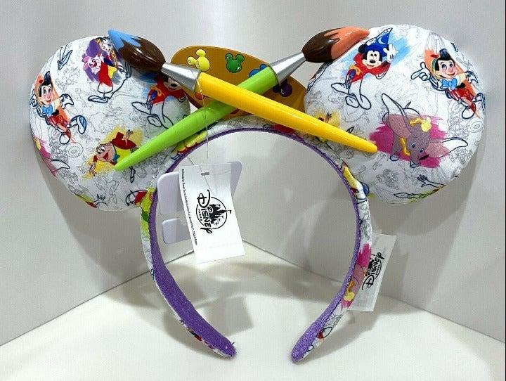 Disney Ink & Paint Minnie Ears Headband