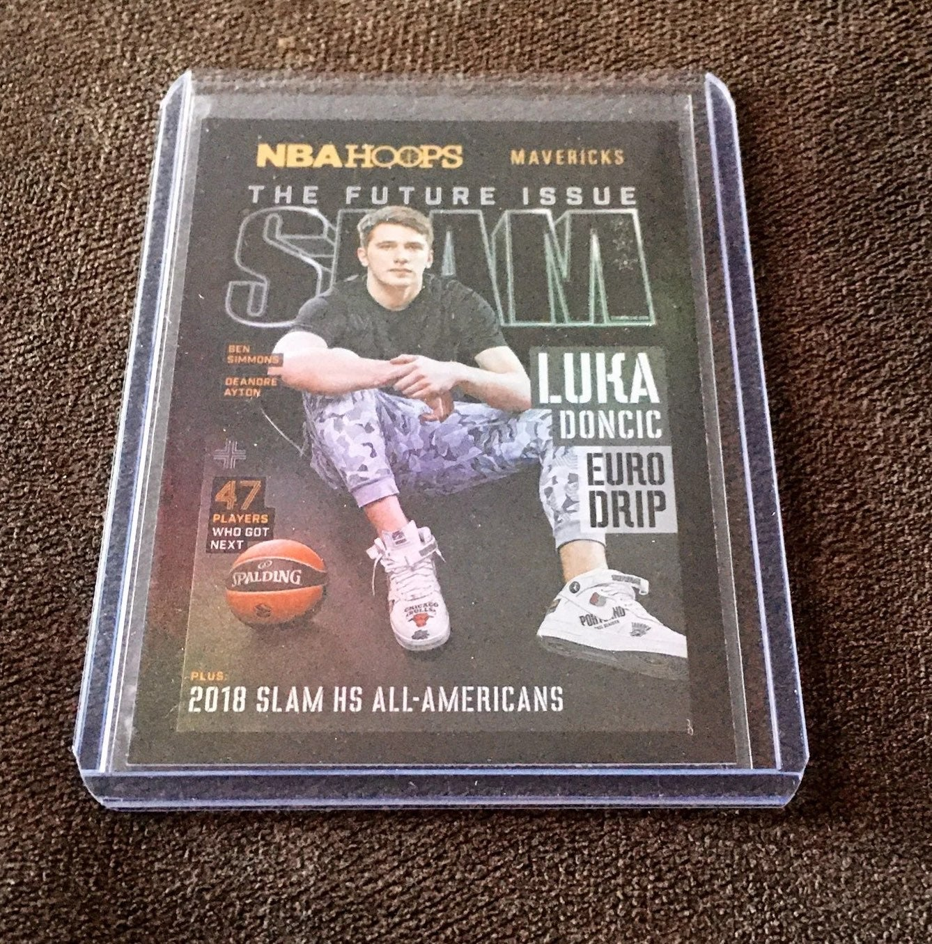 Luka Doncic Holo Slam Insert