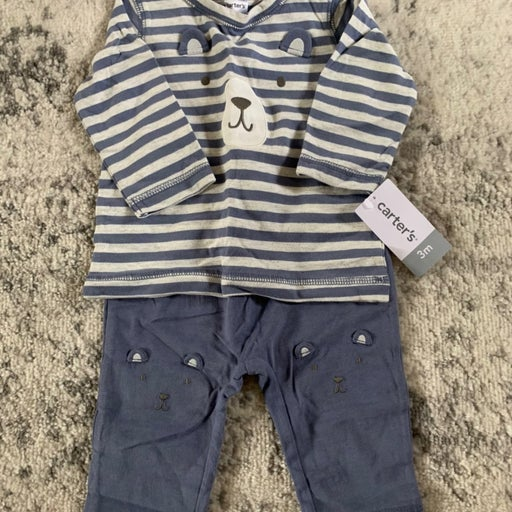 Baby boy carters 2 piece outfit