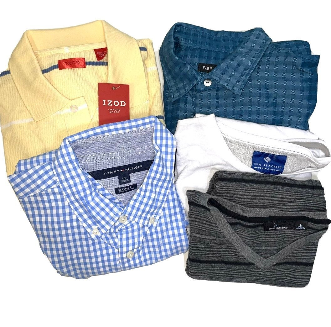 Mens lot of 5 top size Large