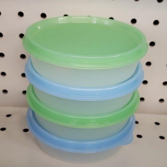 Set of 4 little wonder bowls Tupperware