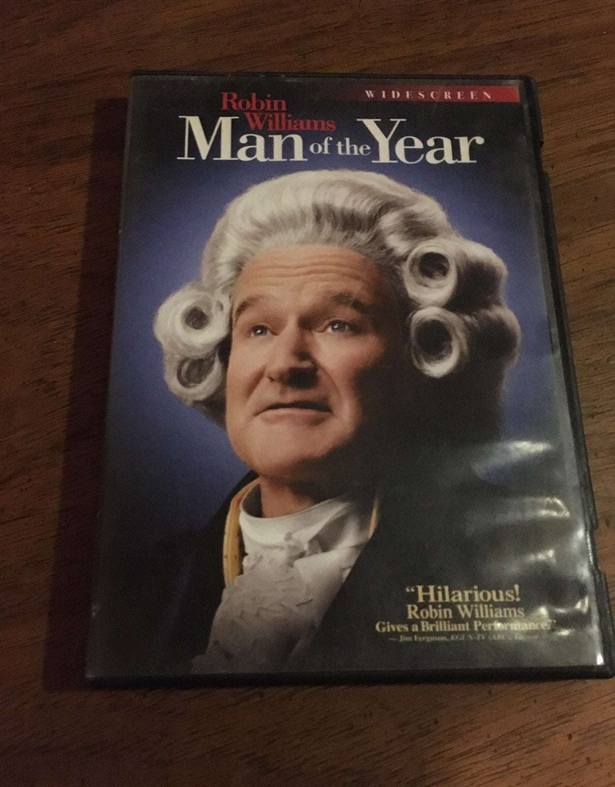 Man of the Year DVD