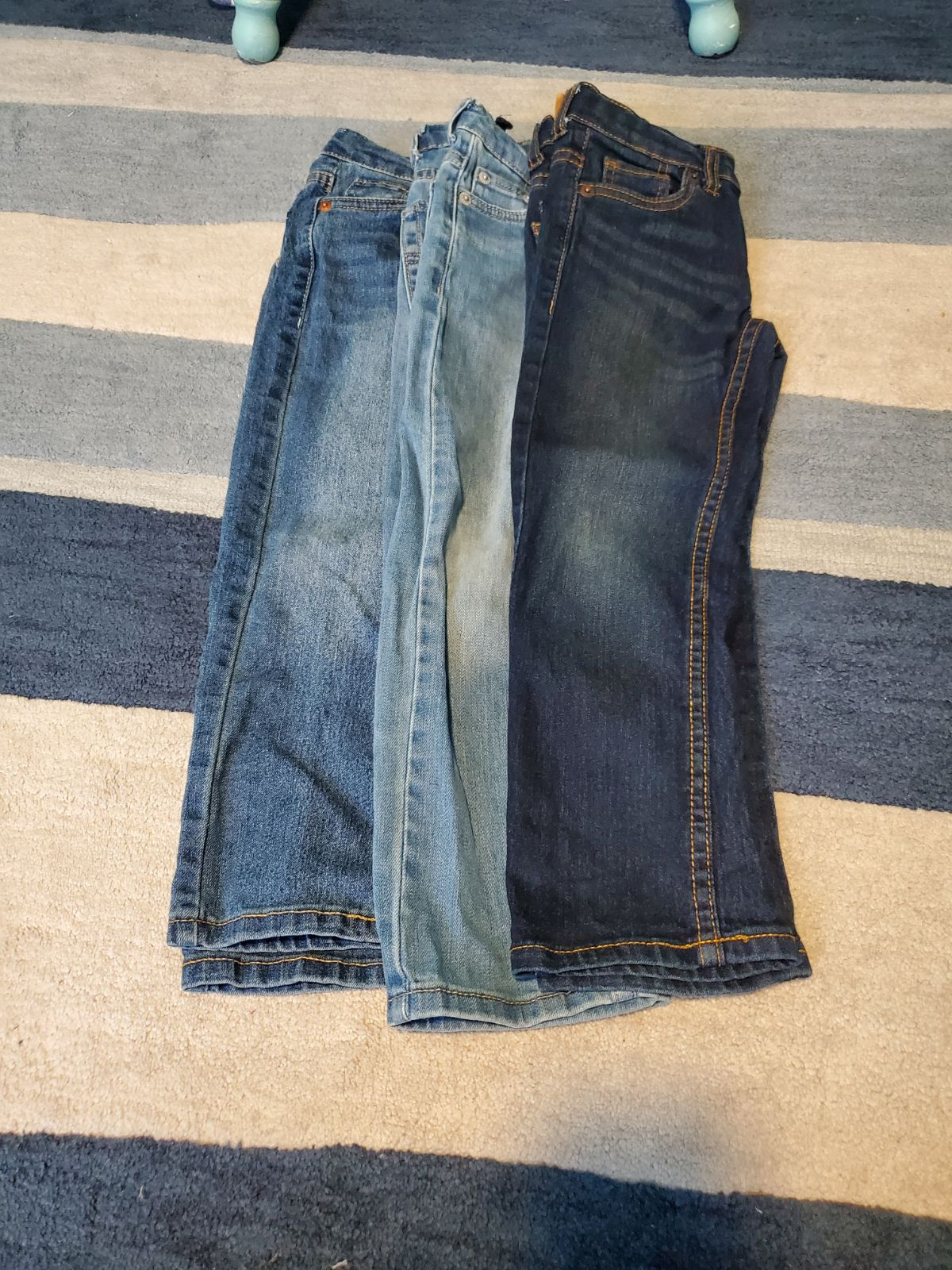 Lot of 3 Levi's 511 Slim Jeans size 5
