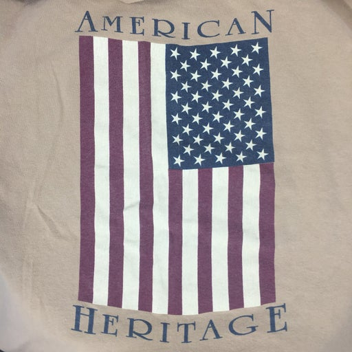 Vintage 90's Country American Flag Shirt