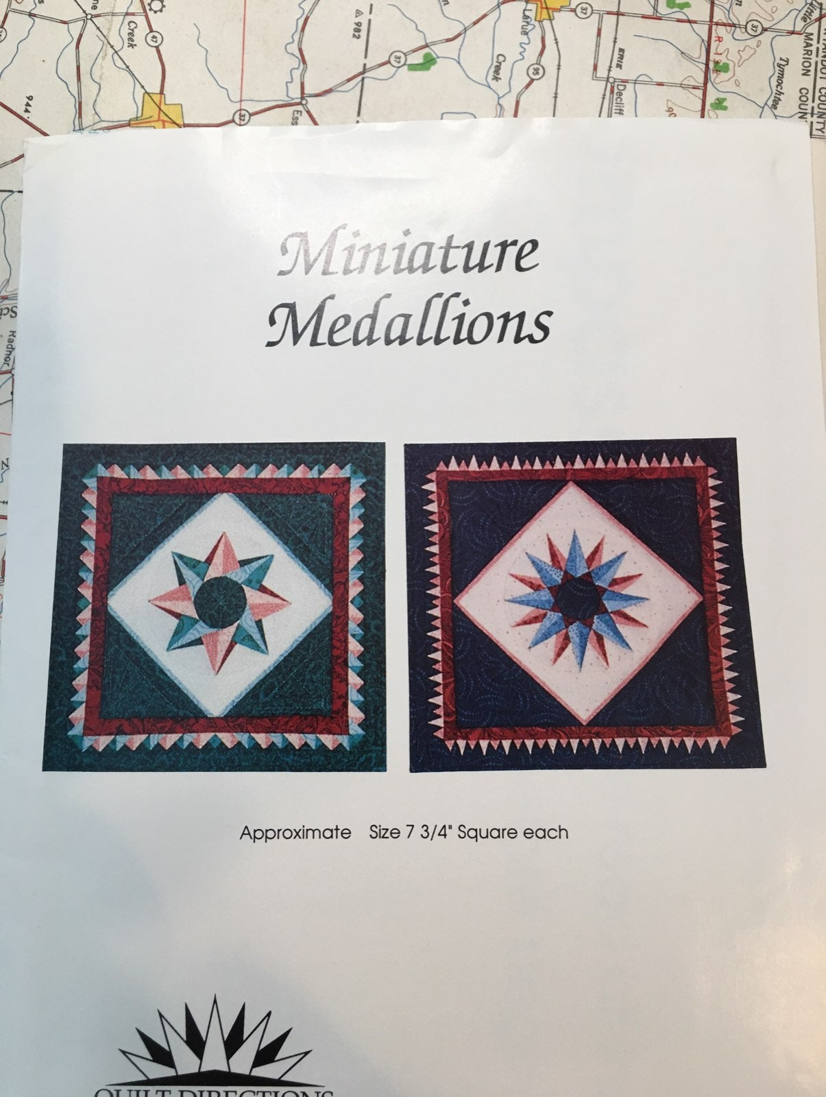 Miniature Medallions Quilts Pattern