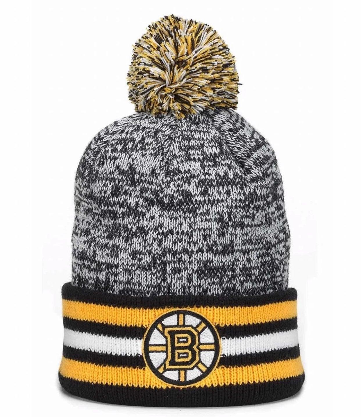 Boston Bruins Granite Beanie