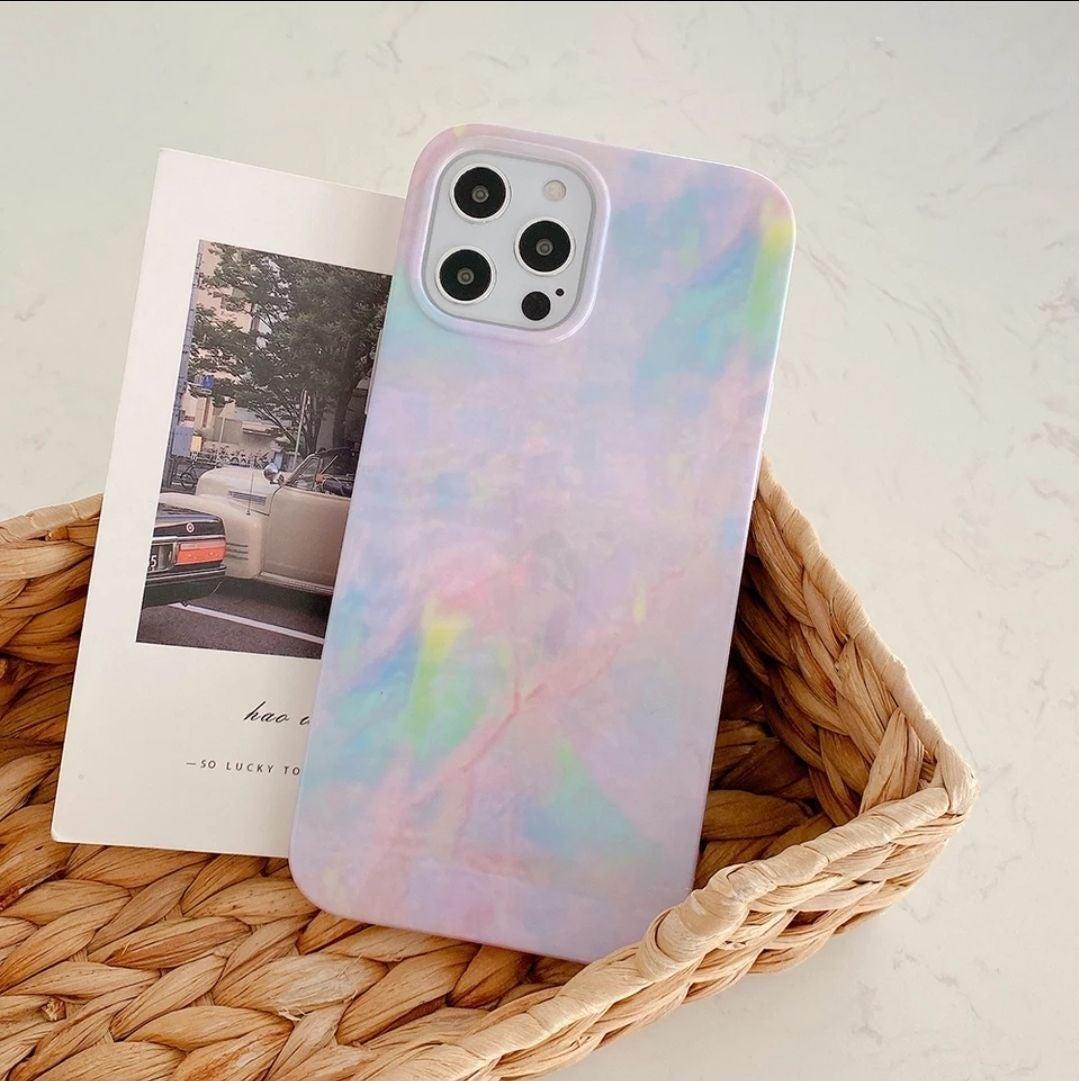 Iphone 12, 12 Pro case Marble Gradient