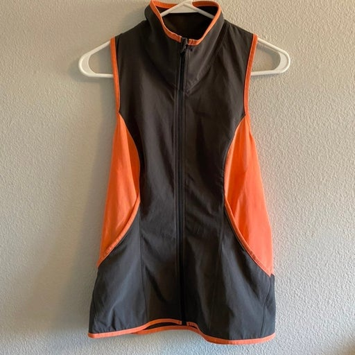 Lucy athletic zip tank