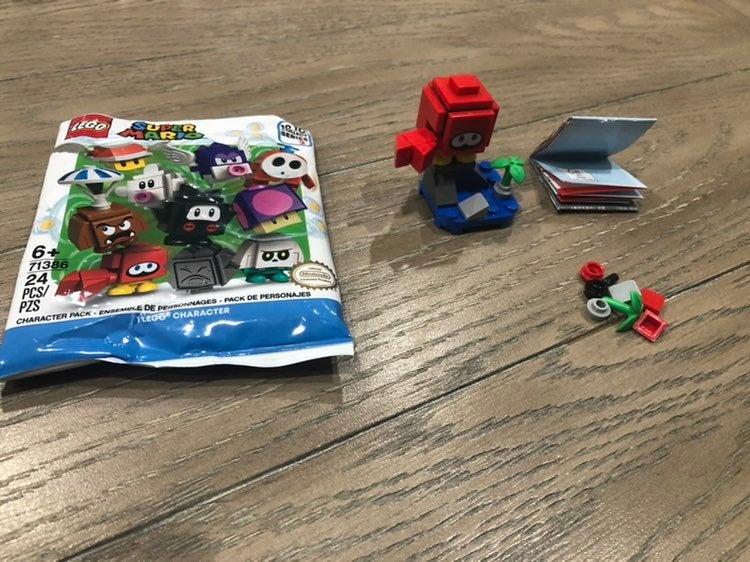 Mario lego series 2  hucket crab