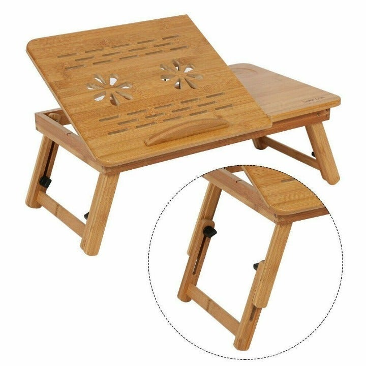 Portable Laptop Folding Table Bed