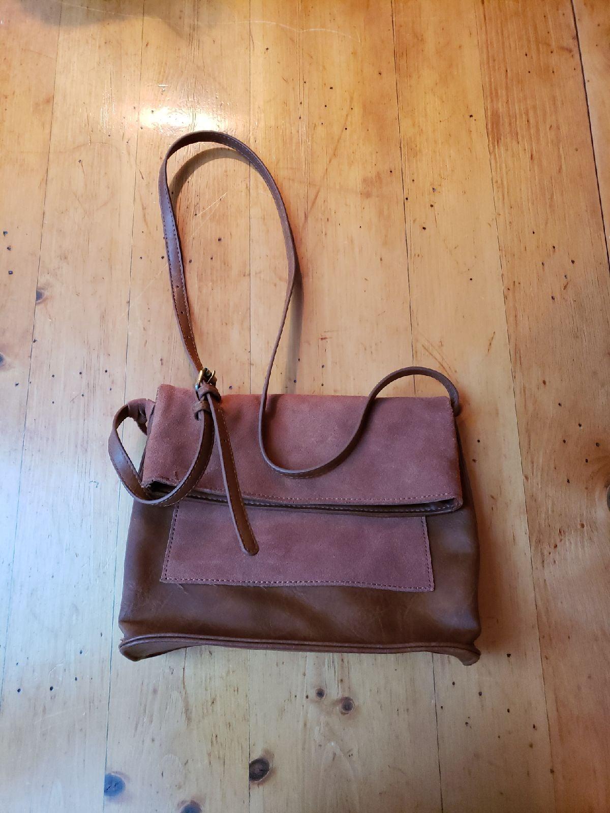 Antik Kraft Leather-like handbag purse o