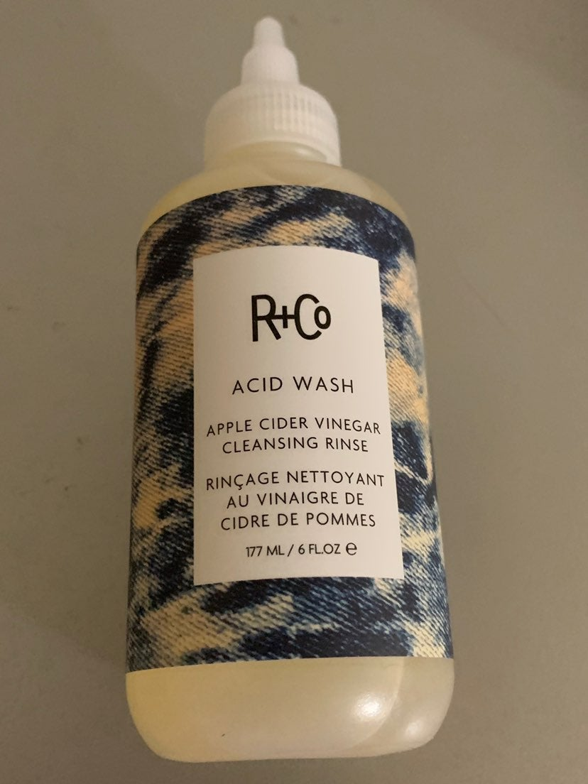 R+Co acid wash cleansing rinse