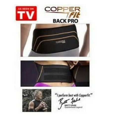 Copper Fit PRO Back Compression UNISEX
