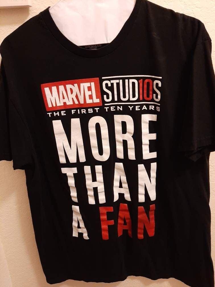 Marvel more than a fan tshirt