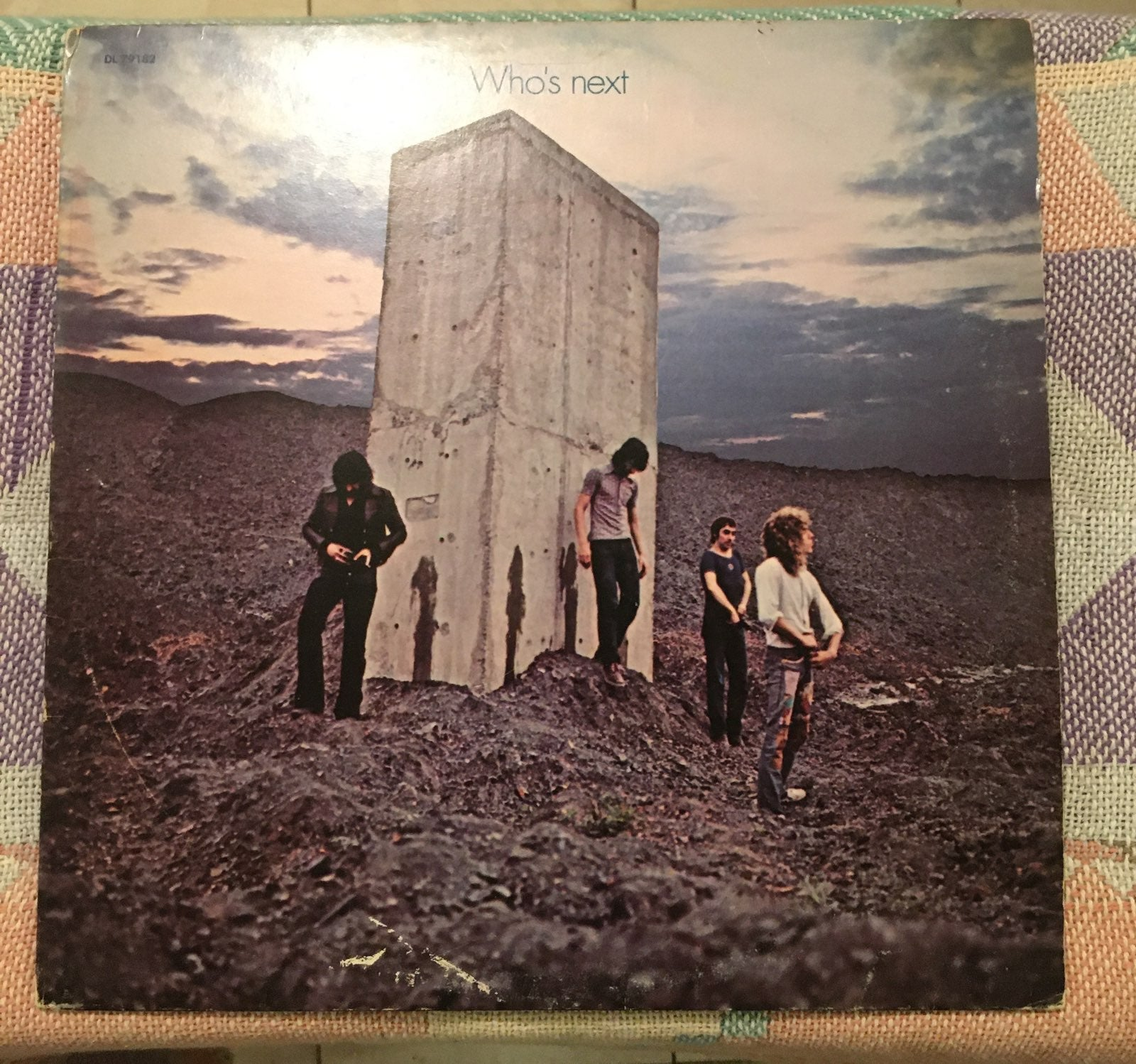 Who's next by the who classic vinyl reco
