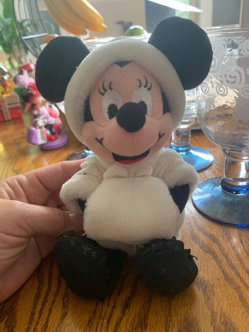 Minnie Mouse Plush January Birthstone