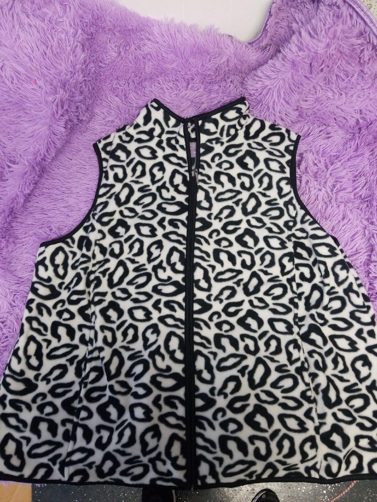 Womens 2x fleece vest
