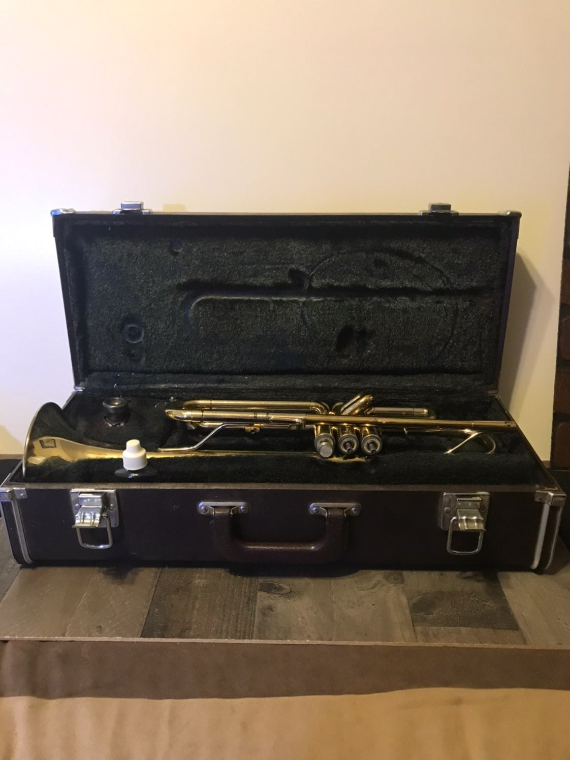 Blessing Trumpet with Hard shell Case 55