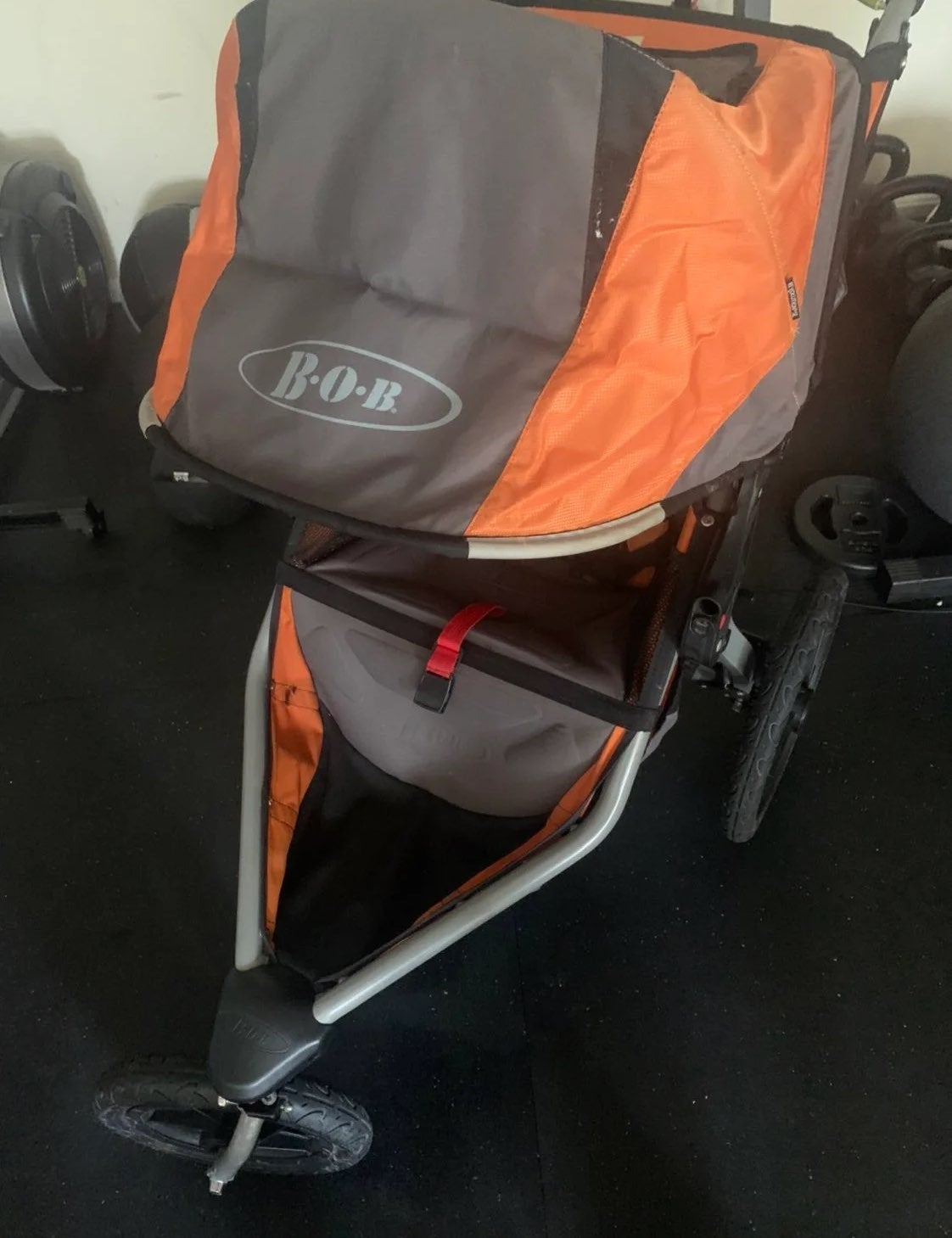 BOB STROLLER & parent console included!