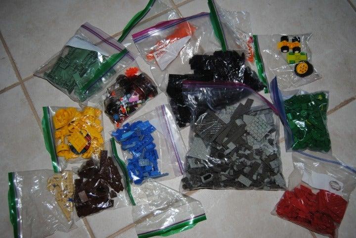 Lego Pieces  Hundreds