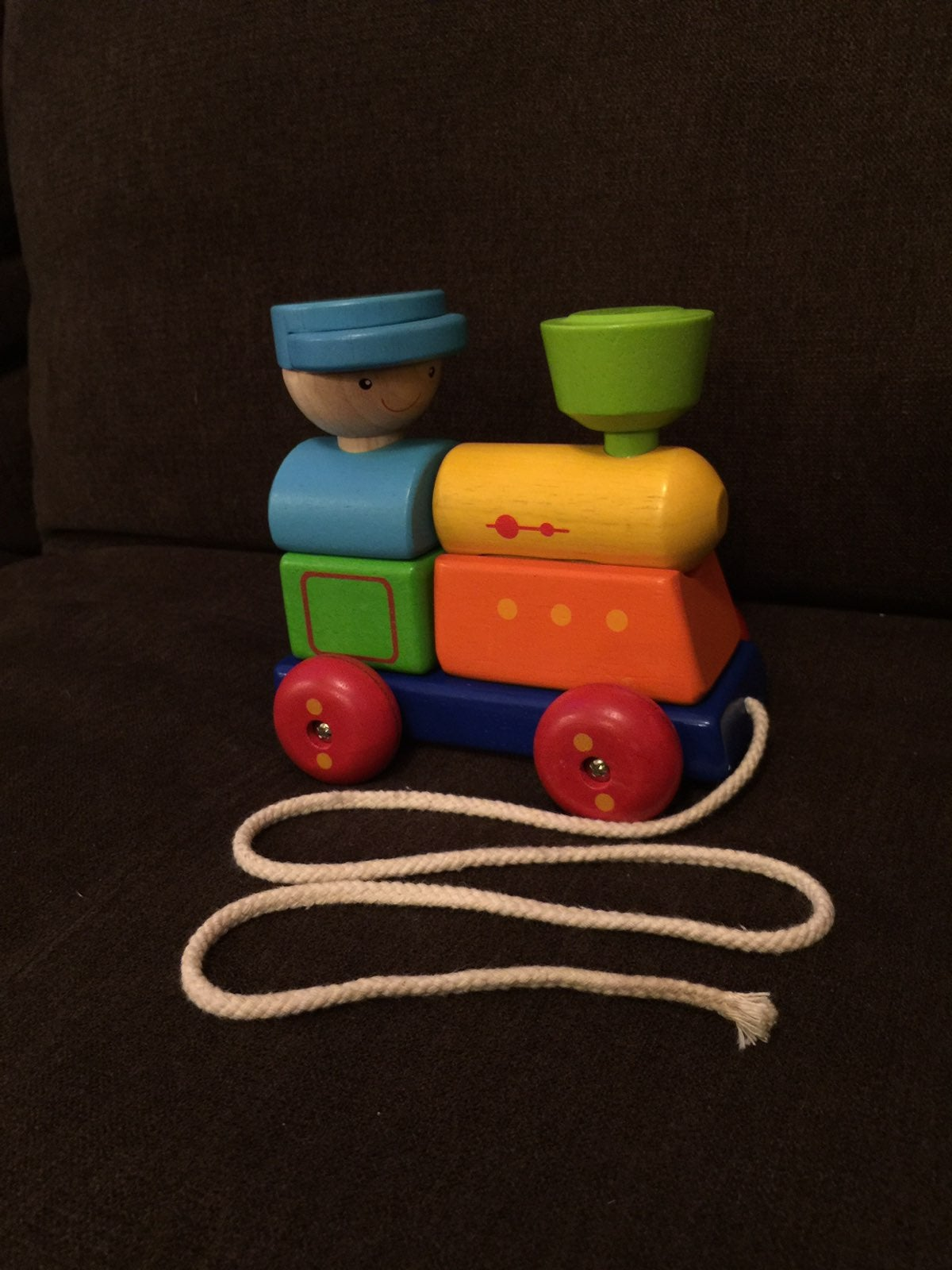 Plan Toys Sorting Train Pull Toy