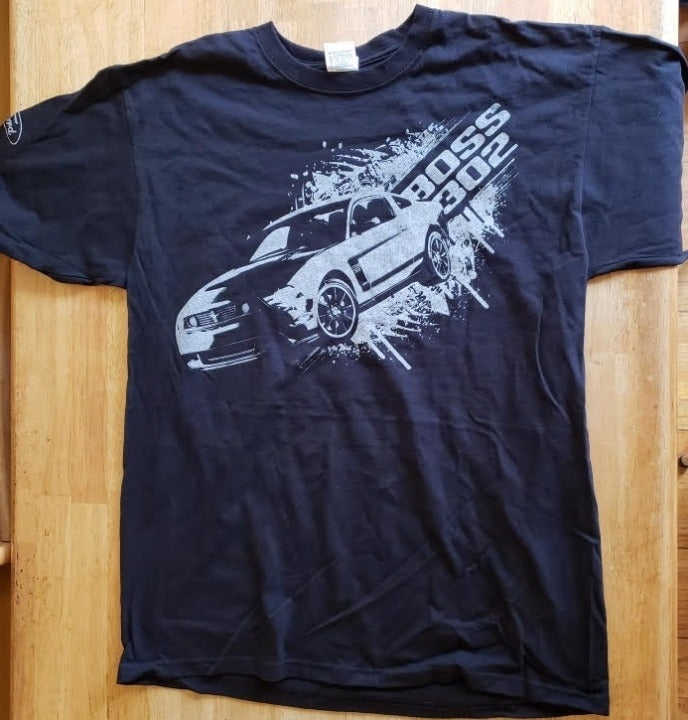 Ford Mustang Boss302 T-Shirt - Large