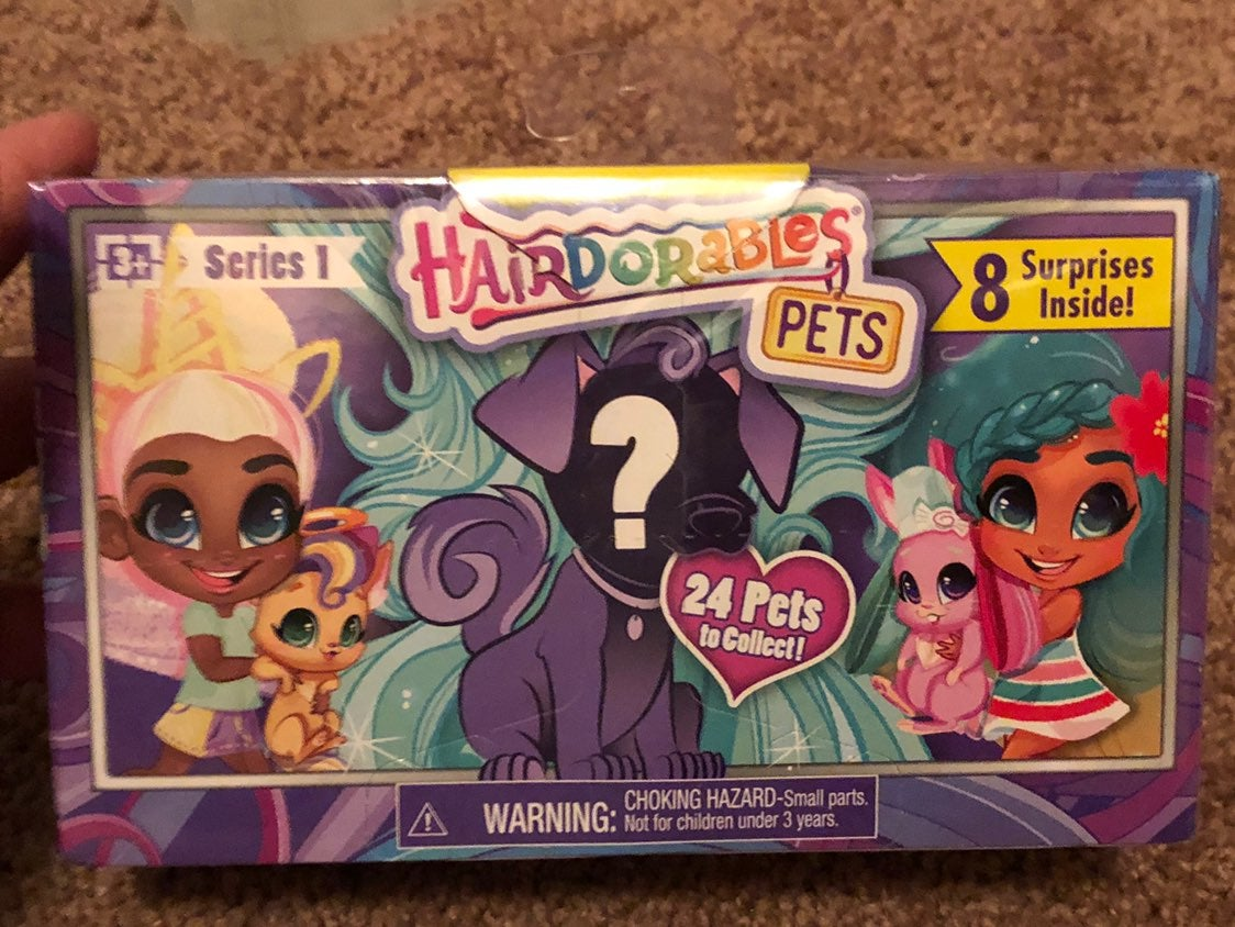 New Hairdorables Pets Series 1