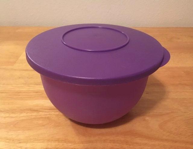 VNTG Tupperware Impressions Grape Purple