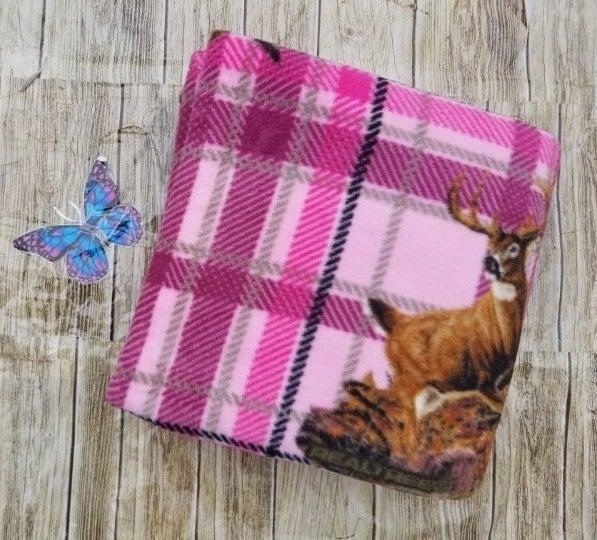 Teen Girls Realtree Deer Plaid Blanket