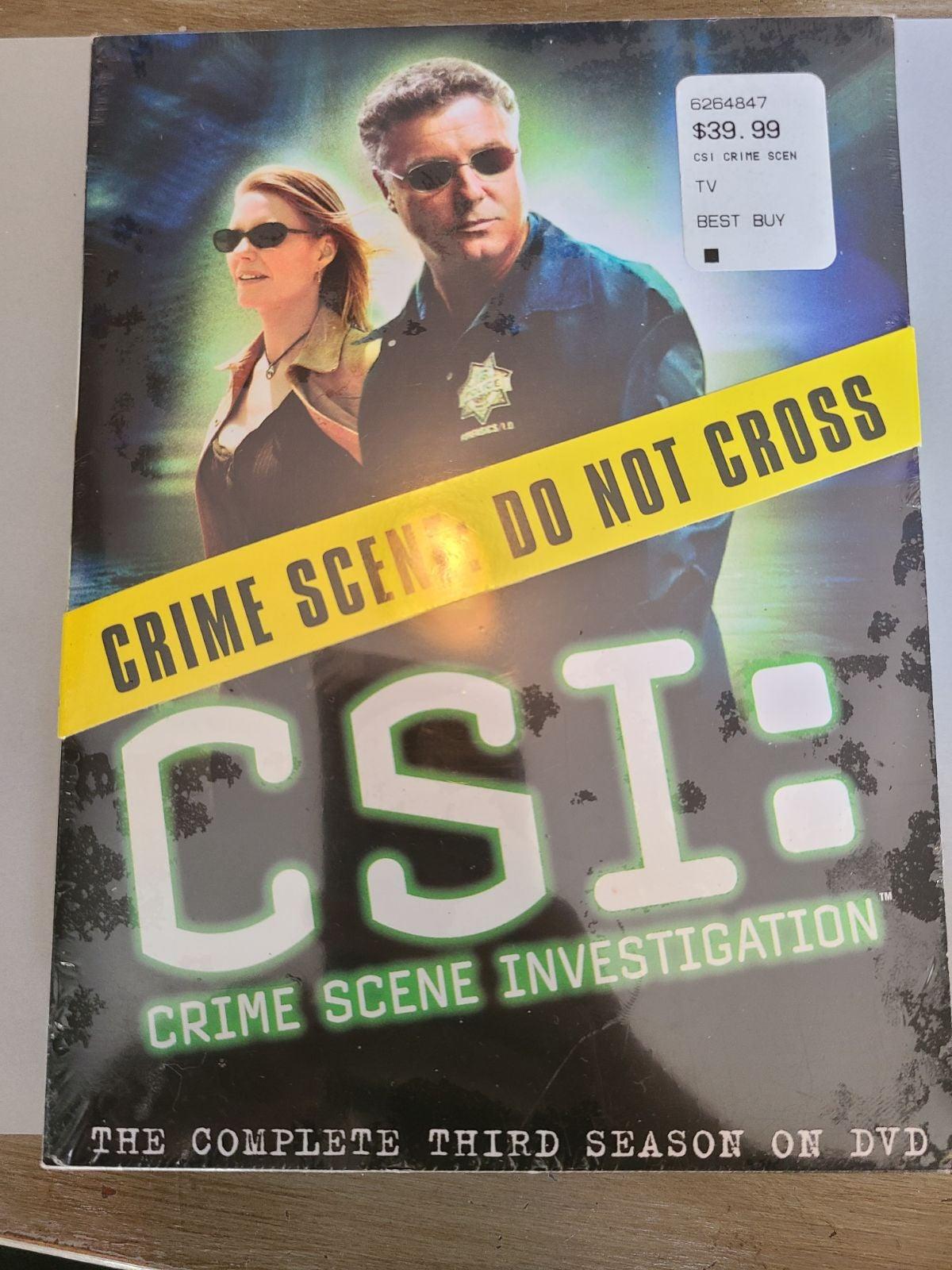 DVD CSI Crime Scene Investigation 3rd c