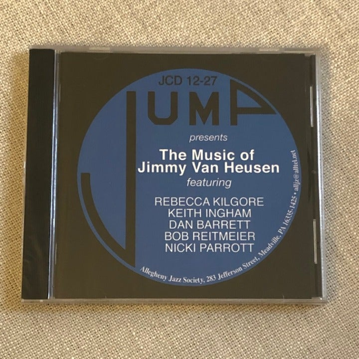 The Music of Jimmy Van Heusen jazz CD