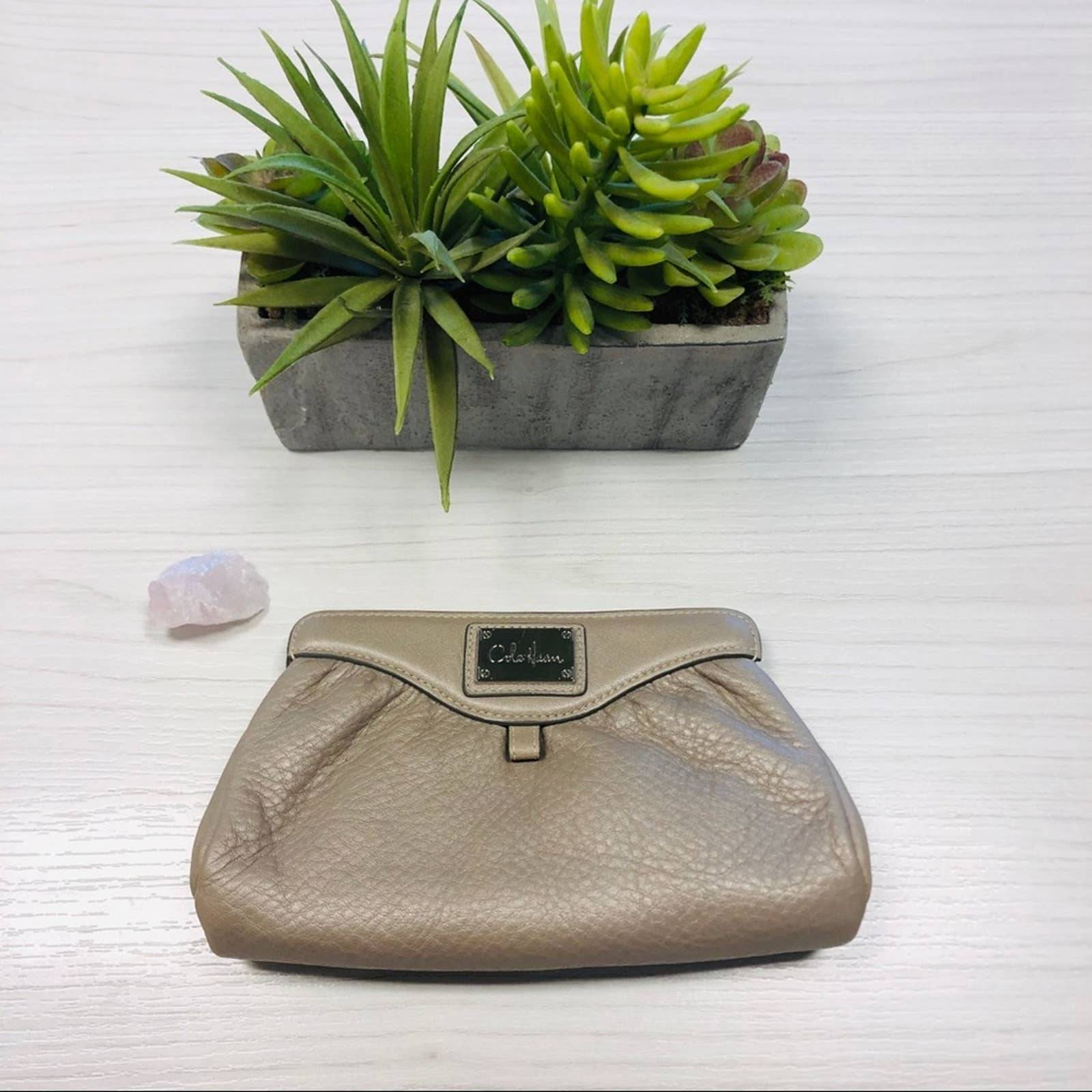 Cole Haan small cosmetic pouch