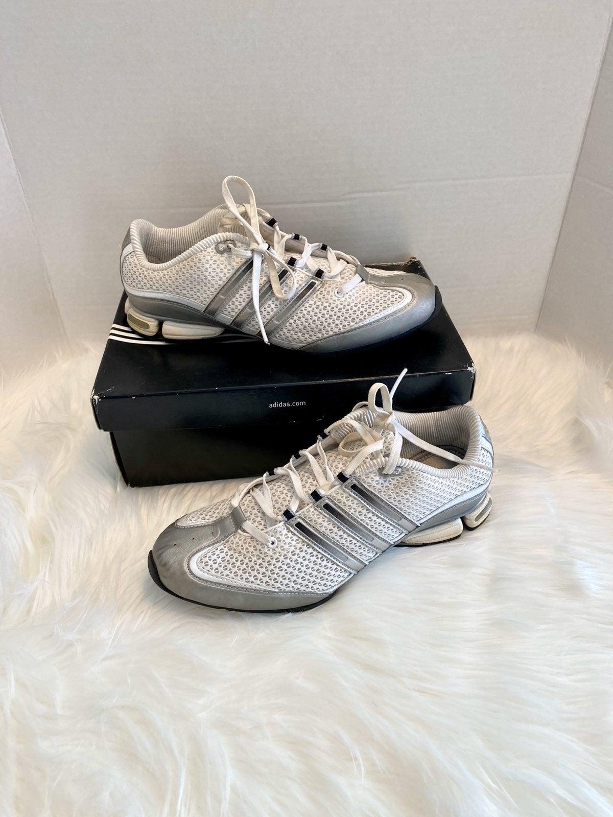 ADIDAS Jhana White Silver Black Sneakers