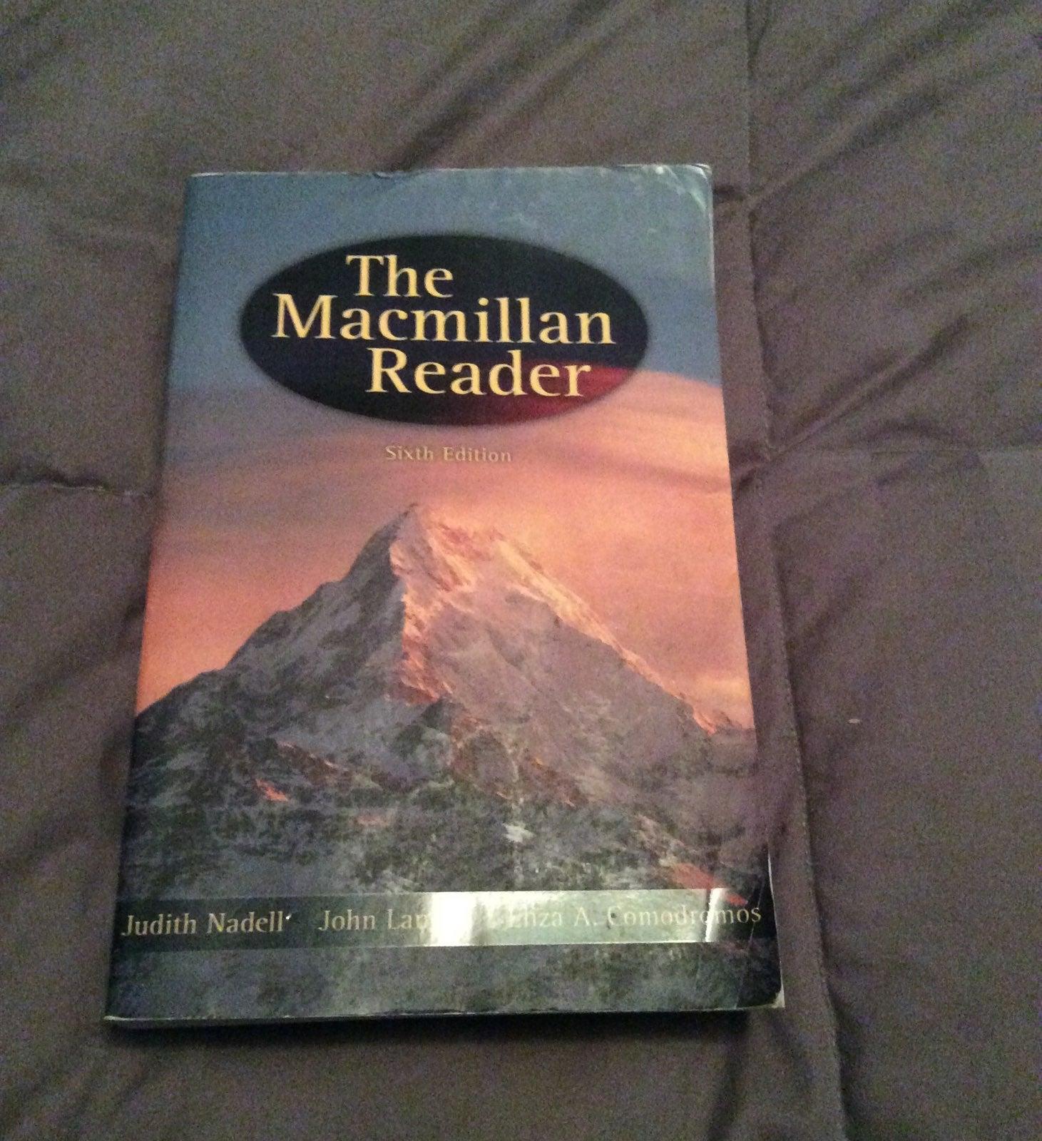 The macmillan reader sixth edition