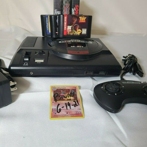 SEGA Genesis MK-1601 console lot