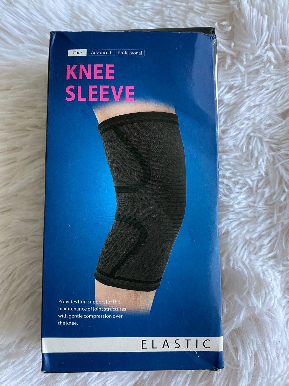 Compression Elastic Knee Sleeve Size M