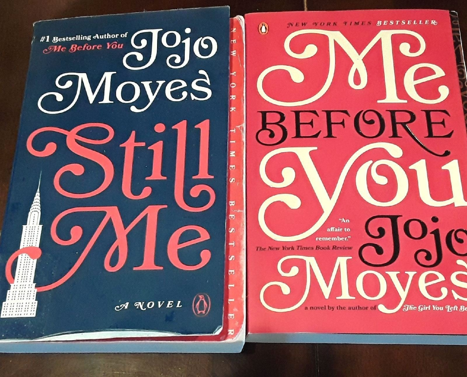 Still me and me before you books