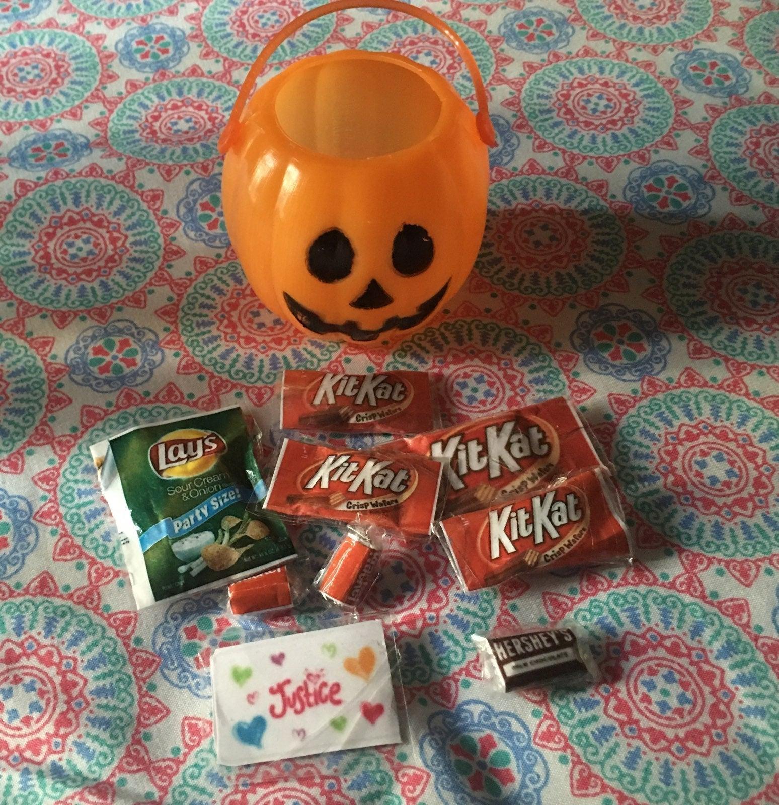 A.G. Doll Halloween Treat Set handmade