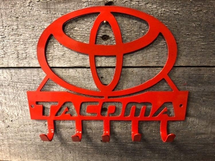 Toyota tacoma key rack wirh hooks