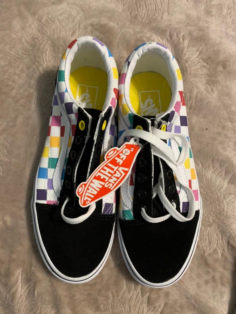 Pride Vans Rainbow Old Skool