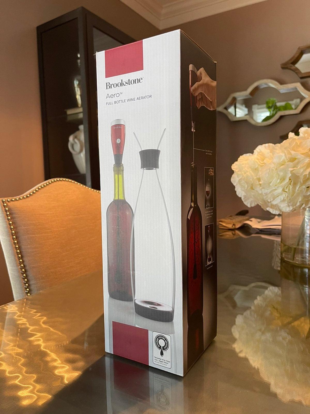 New in box Brookestone Wine Aerator